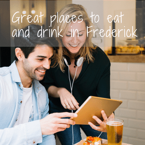 things to do in frederick md places to eat